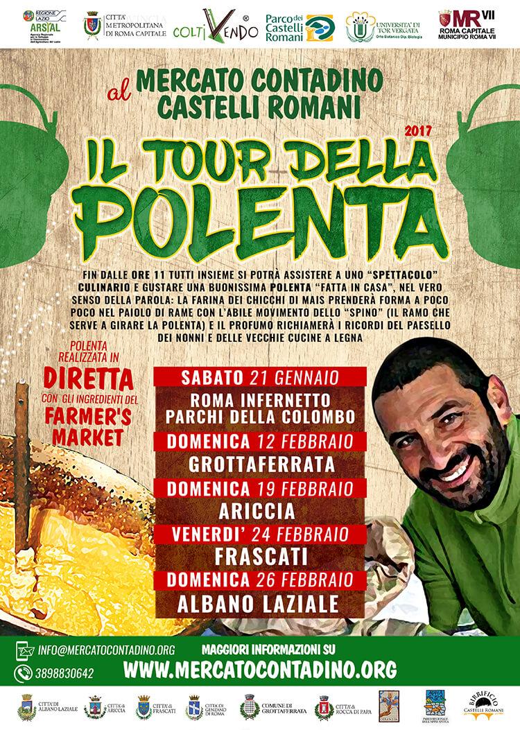 tour della polenta mercato contadino