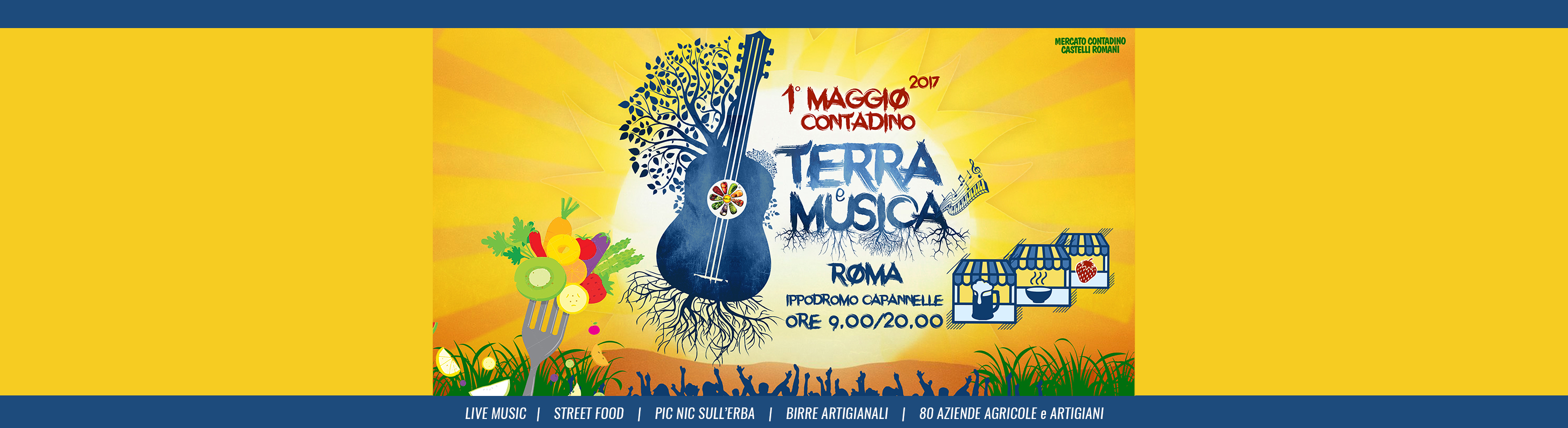 TERRA e MUSICA FESTA DEL PRIMO MAGGIO ROMA