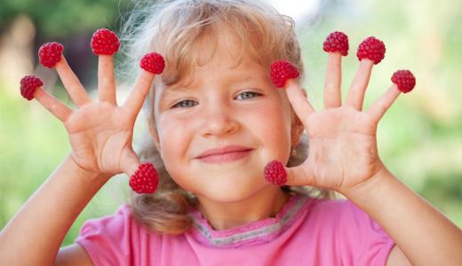 Laboratorio del buon cibo per bambini
