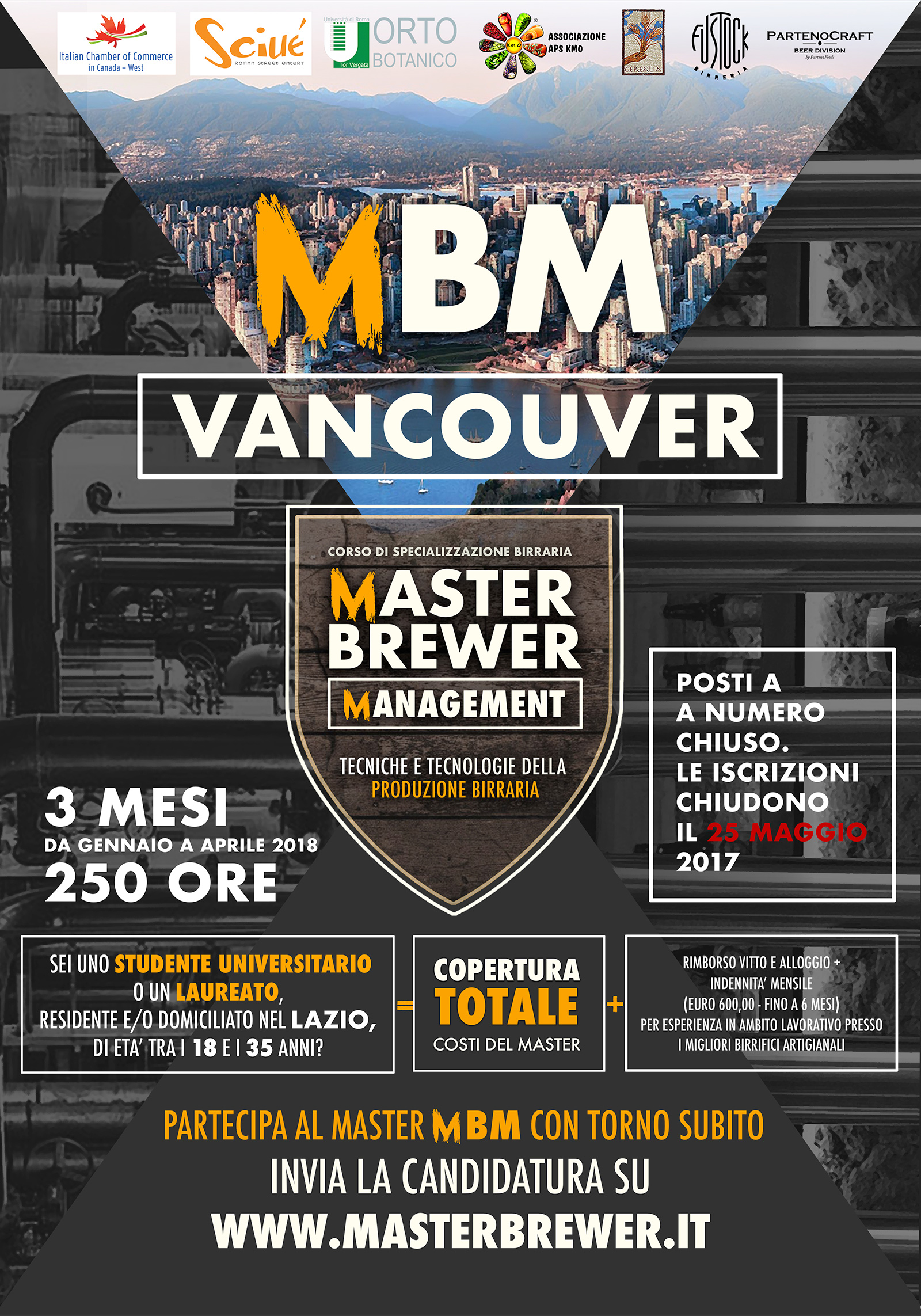 Master Brewer Management Vancouver