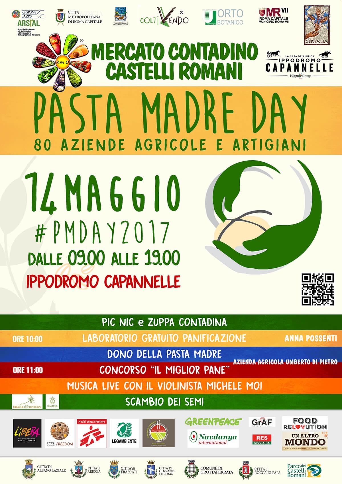 Immagine Pasta Madre Day 2017 Mercato Contadino Castelli Romani Roma