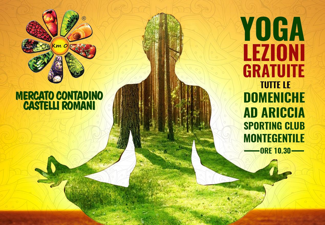 Yoga al Mercato Contadino