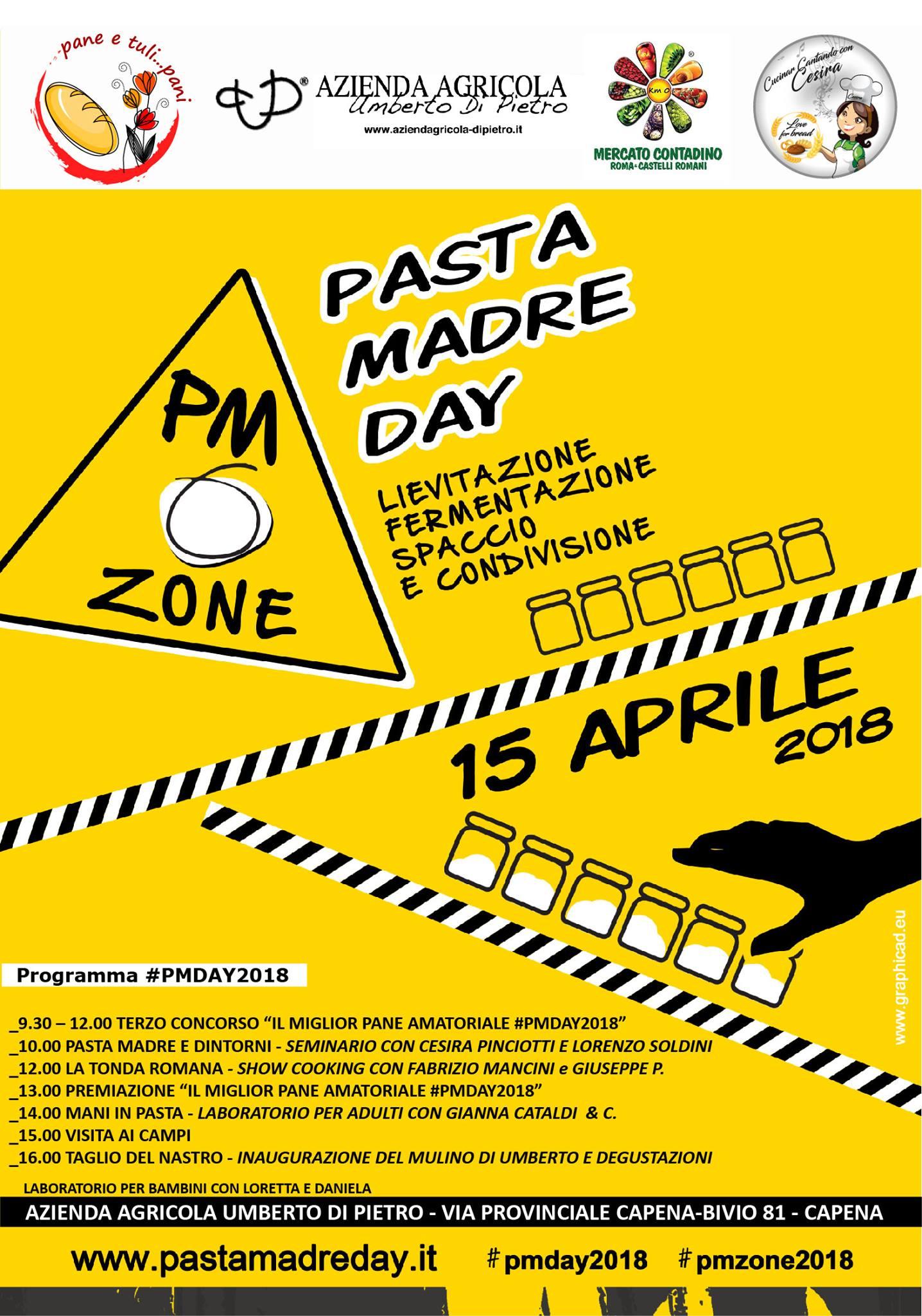 Pasta Madre Day Azienda Di Pietro Capena