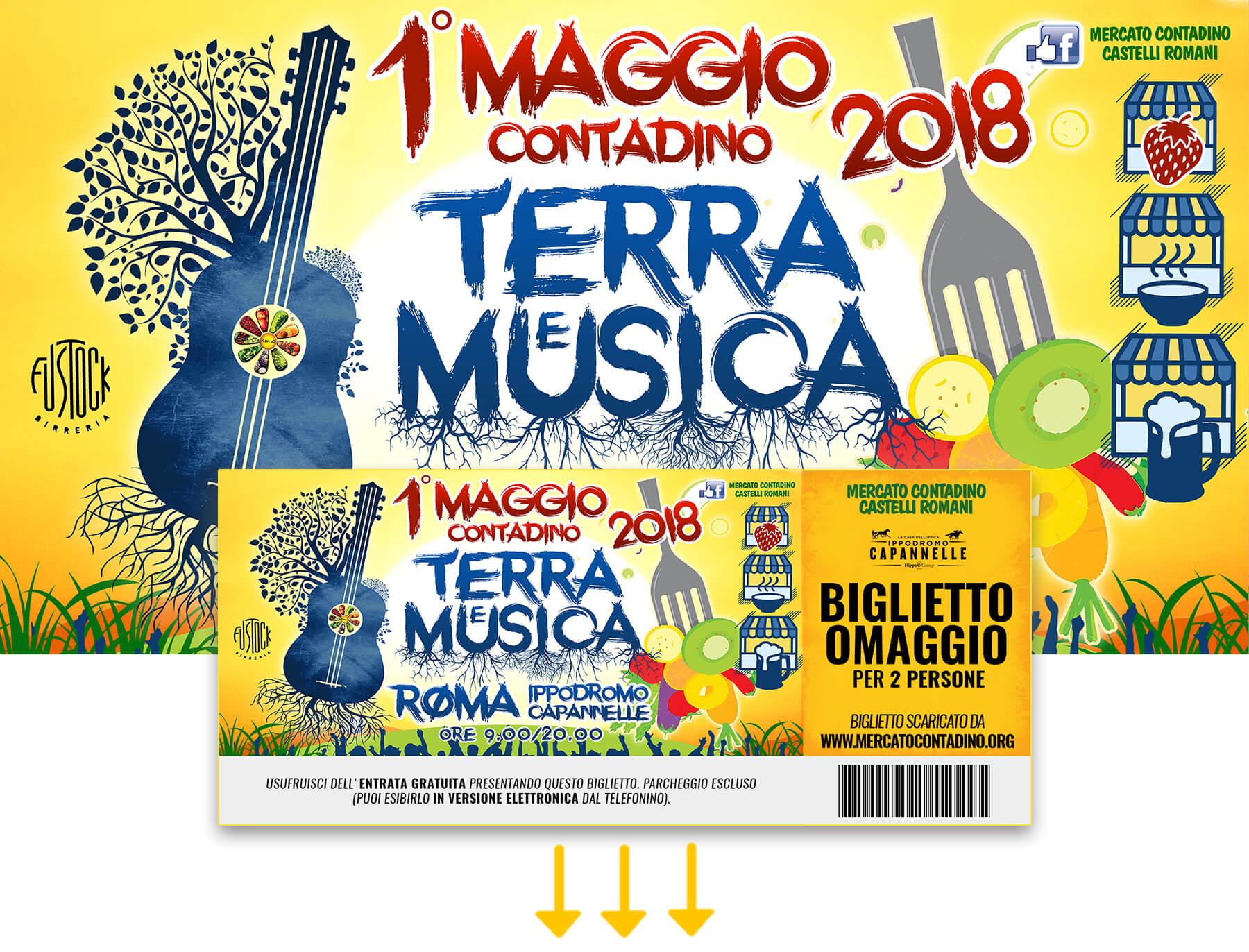 terra_musica_2018_biglietto_omaggio_primo_maggio_roma_ippodromo_capannelle