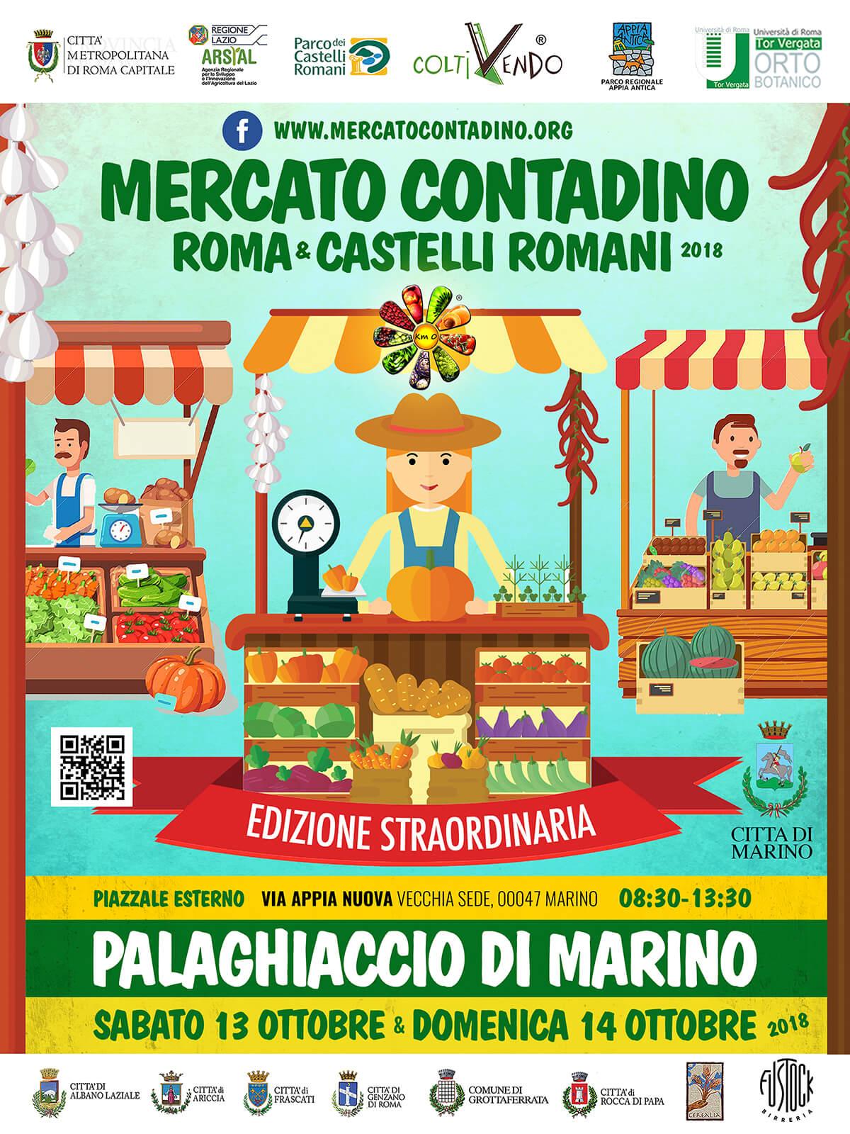 mercato contadino di marino sull'appia