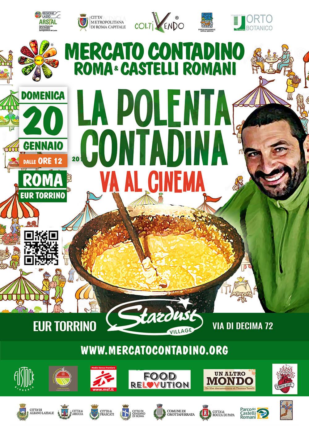 mercato contadino roma eur torrino polenta 2019