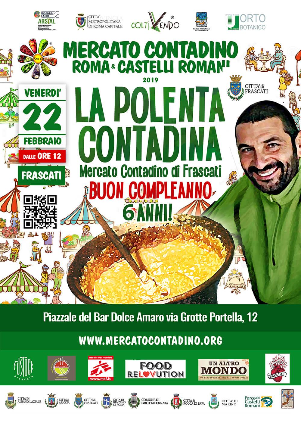 mercato contadino frascati km0 roma castelli romani 2019