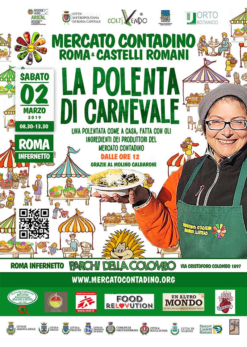 carnevale mercato contadino frascati km0 roma parchi della colombo 2019