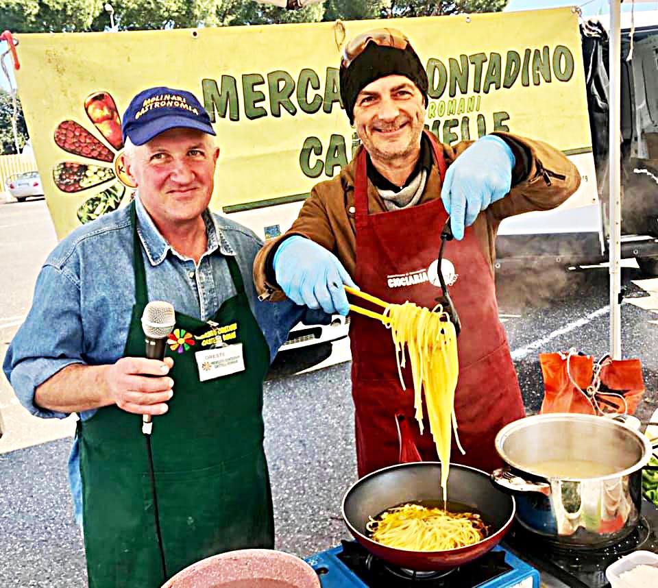 aglio, olio e peperoncino mercato contadino