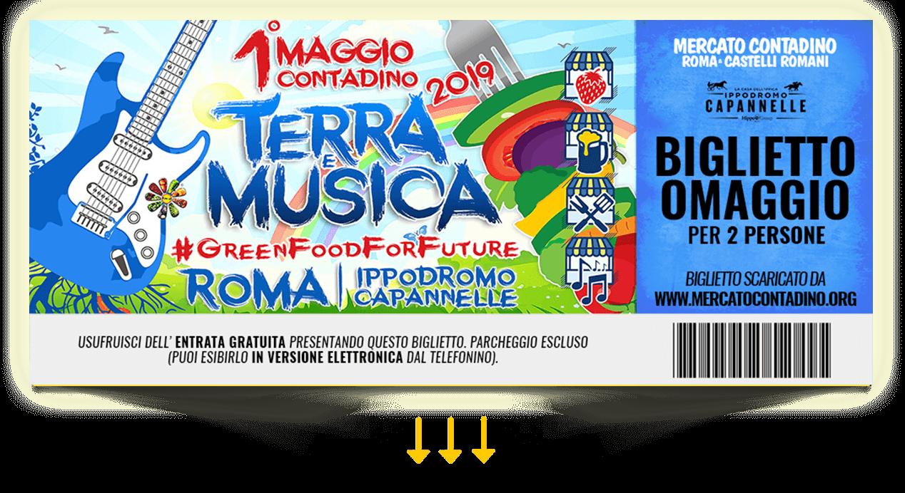 terra e musica 2019 biglietto omaggio