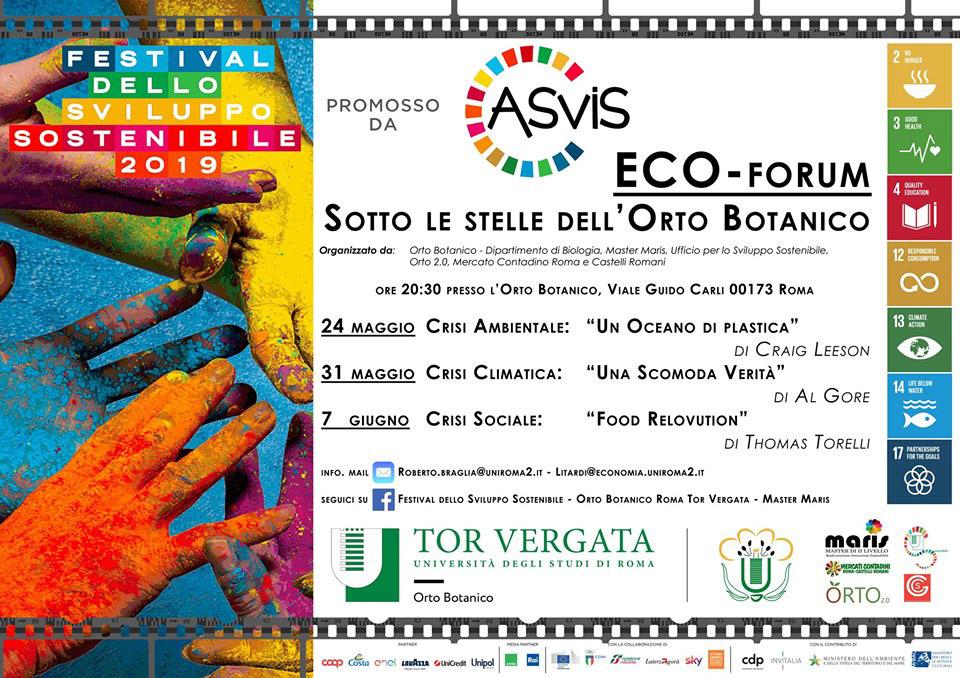 ECOforum_Festival_Ecosostenibile_2019_Orto_Botanico_Universita_Tor_Vergata