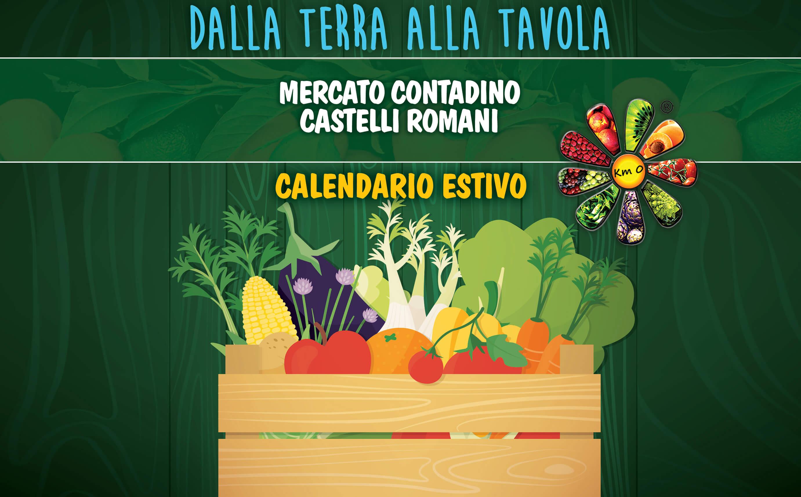 aperti ferie calendario estivo mercato contadino