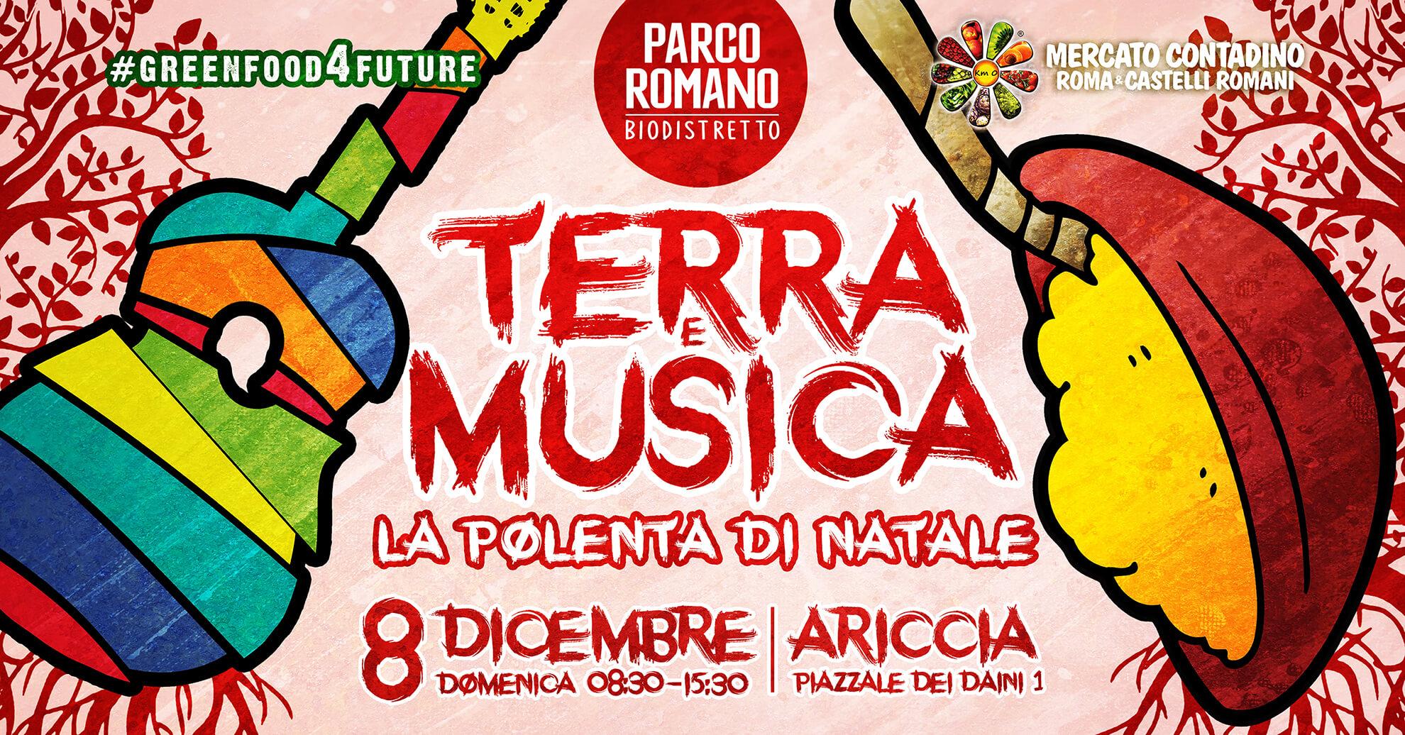 PARCO ROMANO TERRA E MUSICA: LA POLENTA DI NATALE EVENTO