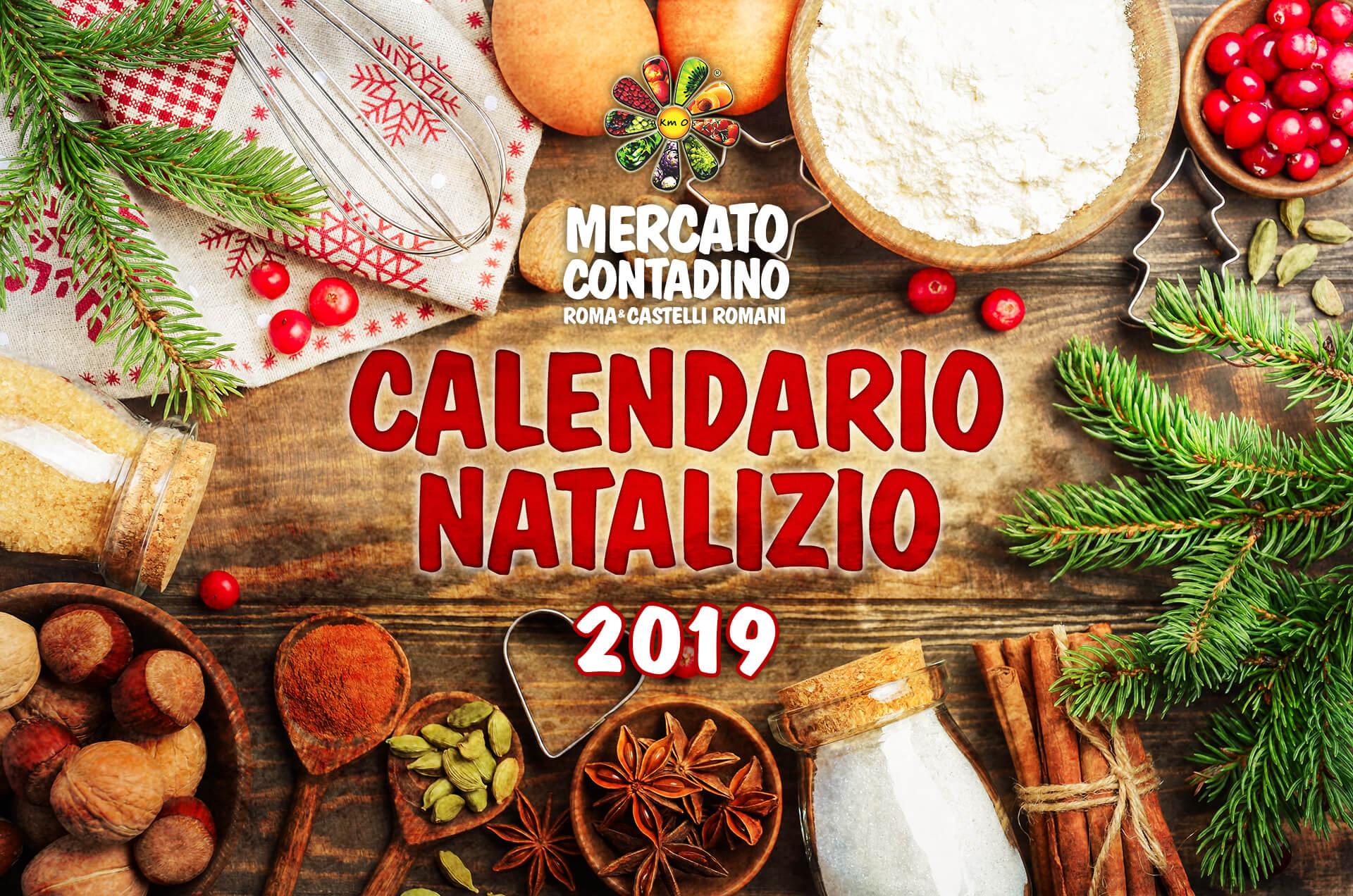mercato contadino calendario natale