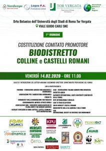 biodistretto colline castelli romani roma costituzione