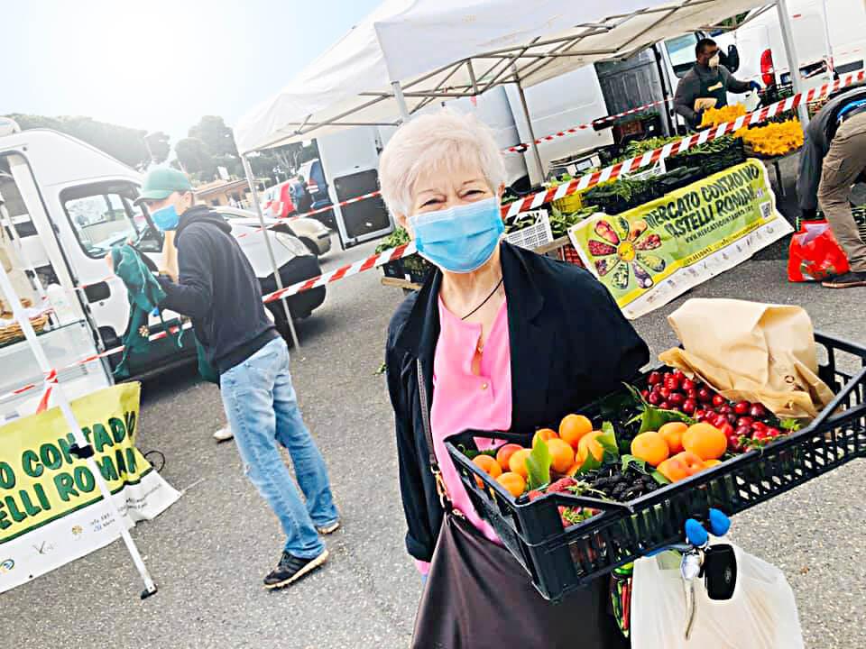 Frascati riapre grande richiesta il Mercato contadino in Via Grotte Portella