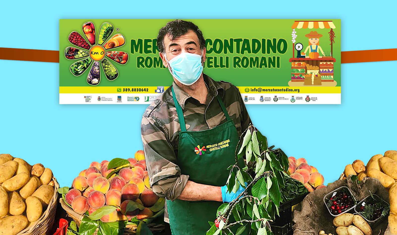 GROTTAFERRATA MERCATO CONTADINO APERTURA