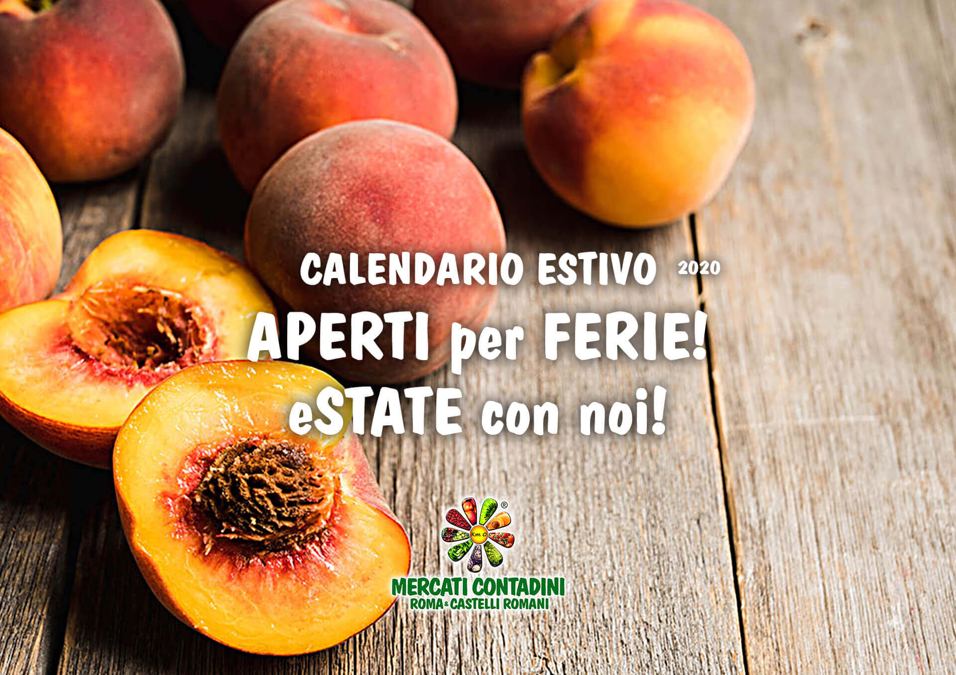 mercato contadino estate calendario aperti ferie