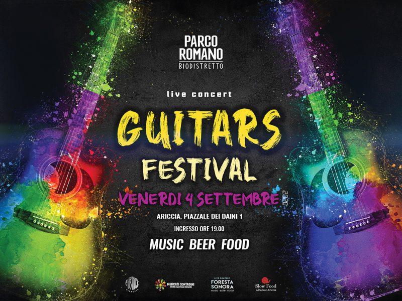 Guitar Festival a Foresta Sonora Parco Romano