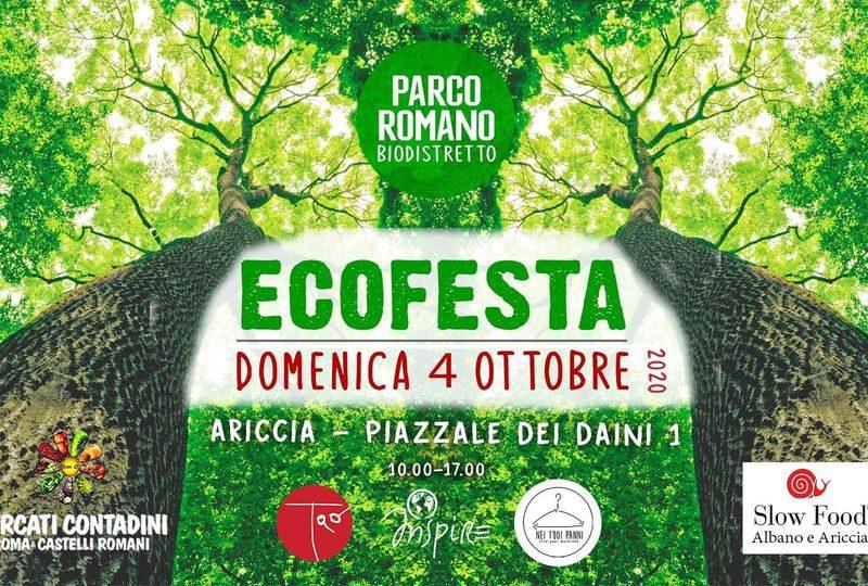 ecofesta parco romano ariccia