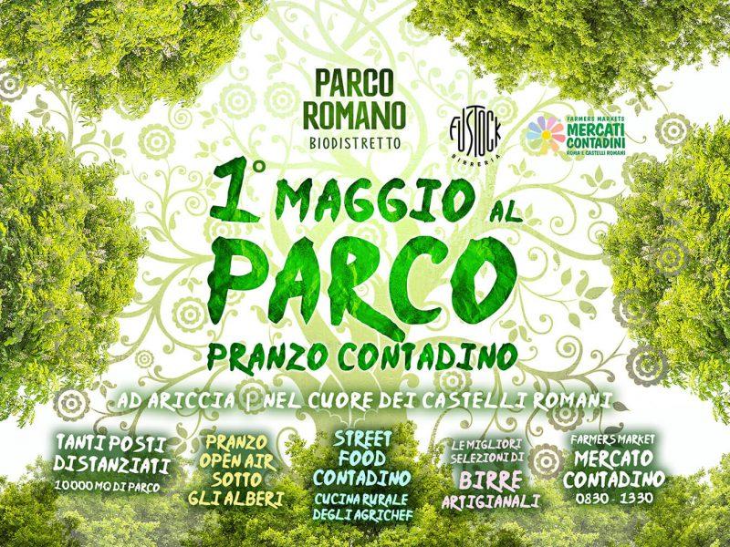 1 primo maggio parco romano ariccia roma 2021