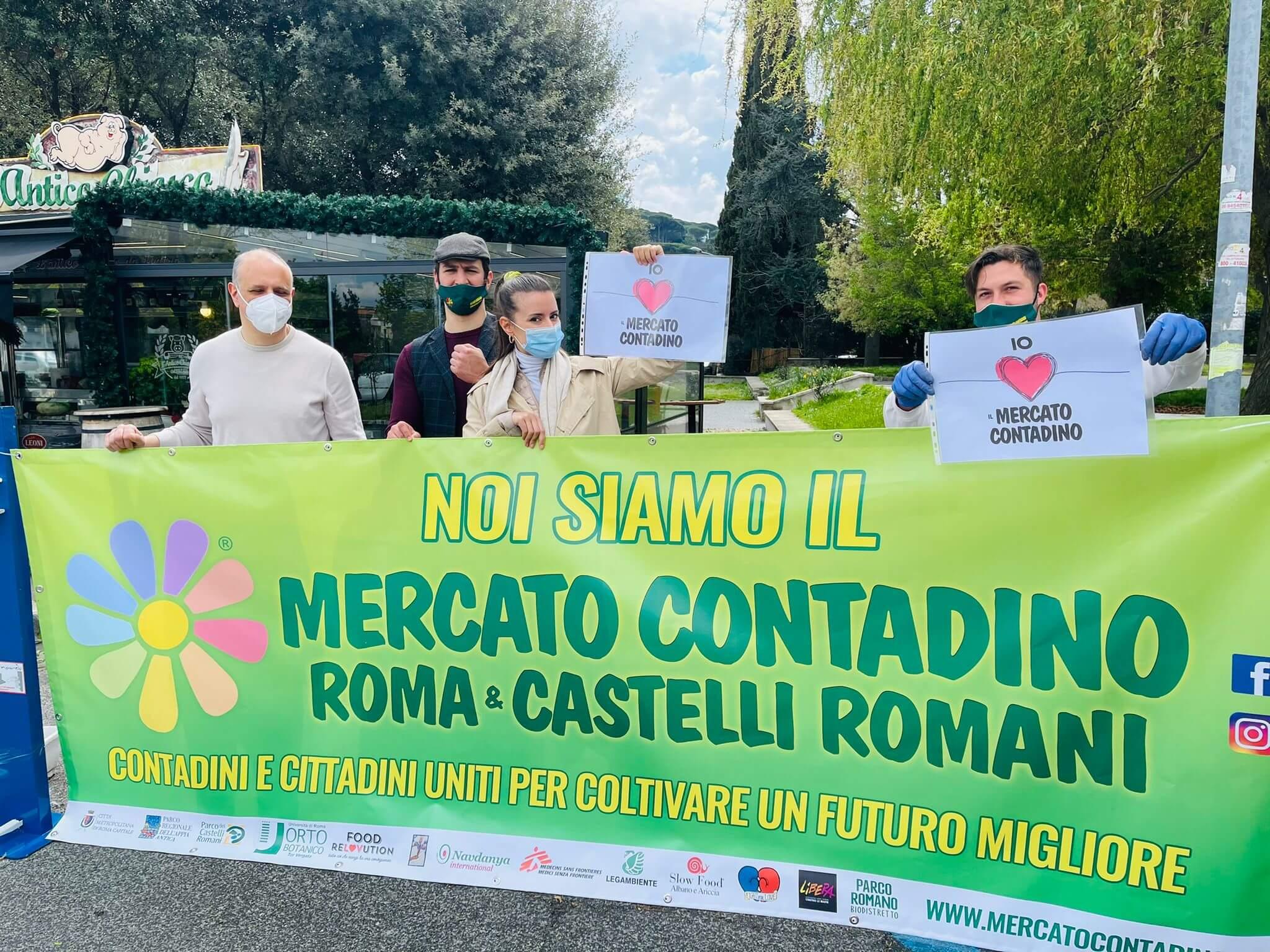 Mercato Contadino Grottaferrata Gabriele Casella e Laura Canali _