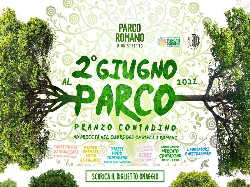 2 giugno parco romano biodistretto pranzo contadino ariccia