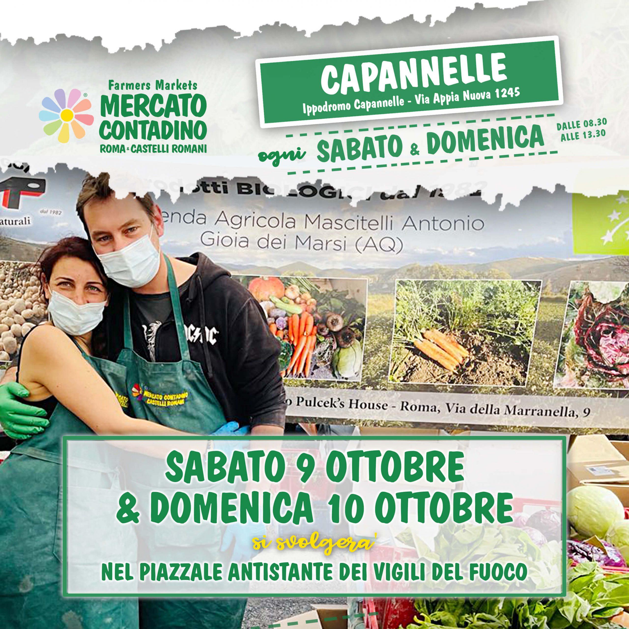 capannelle mercato contadino 2021